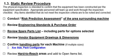 Factory Acceptance Testing – PET Terra Systems